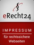 Siegel Impressum in rot